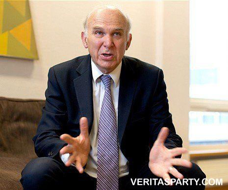 Mengenal Sir John Vincent Cable Ketua Partai Demokrat Liberal Inggris